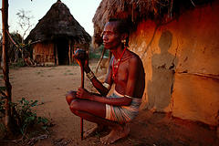 exiula的埃塞俄比亚之旅(8) – Hamer部落