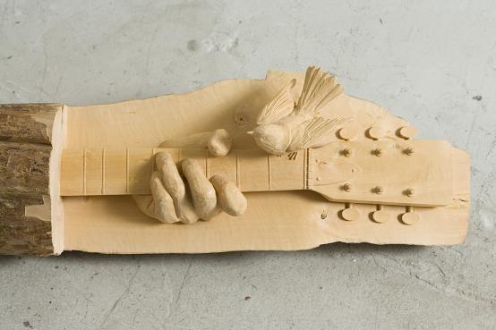 Ricky Swallow 的精美木雕欣赏