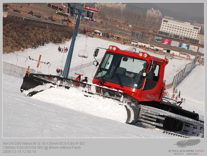 南山滑雪场 – 镜头下的瞬间1