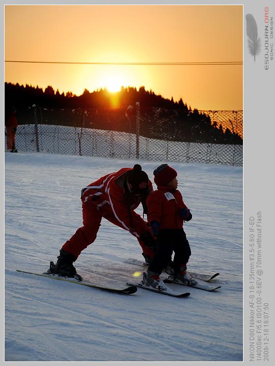 南山滑雪场 – 滑雪教练的印象